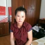 Chị Trang sinh năm 1977 sẵn sàng đi làm giúp việc gia đình
