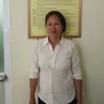 Cô Cúc sinh năm 1969, quê Phú Thọ sẵn sàng đi làm