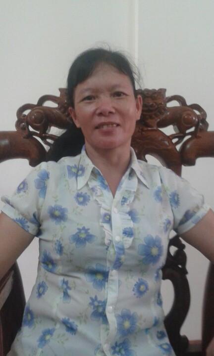 Cô Nguyễn Thị Thanh sinh năm 1968, quê Phú Thọ rất nhanh nhẹn