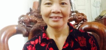 Cô Triệu Thị Kim sinh năm 1962 mong muốn chăm ông bà