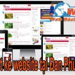 Thiết Kế Website Tại Huyện Đan Phượng Giá Rẻ Ở Homecare Hà Nội