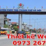 Thiết Kế Website Tại Huyện Phúc Thọ Giá Rẻ LH : 0973 267 238