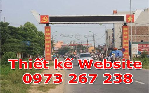 Thiết Kế Website Tại Huyện Thanh Oai