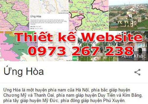 Thiết Kế Website Tại Huyện Ứng Hòa