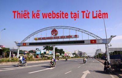 Thiết Kế Website Tại quận Bắc Từ Liêm