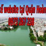 Thiết Kế Website Tại Quận Hoàng Mai Giá Rẻ Uy Tín