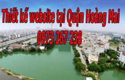 Thiết Kế Website Tại Quận Hoàng Mai
