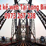 Thiết Kế Website Tại Quận Long Biên Nhanh Rẻ Đẹp