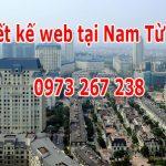 Thiết kế Website Tại Quận Nam Từ Liêm Hà Nội Nhanh Chuyên Nghiệp