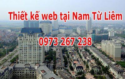 Thiết kế Website Tại Quận Nam Từ Liêm