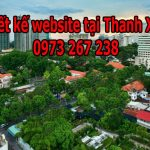 Thiết Kế Website Tại Quận Thanh Xuân Hà Nội Giá Rẻ