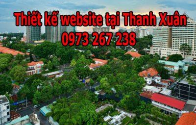 Thiết Kế Website Tại Quận Thanh Xuân