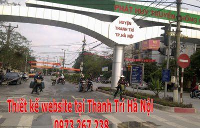 Thiết kế website tại Thanh Trì