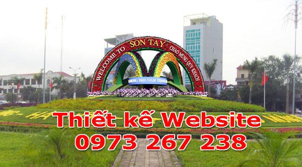Thiết Kế Website Tại Thị xã Sơn Tây