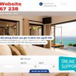Thiết Kế Website Khách Sạn – Cho Phép Đặt phòng Online