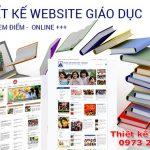 Dịch Vụ Thiết Kế Website Giáo Dục – Trường Học Chuyên Nghiệp