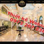 Thiết Kế Website Nhà Hàng Khách Sạn Chuyên Nghiệp