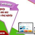 Dịch vụ thiết kế website xí nghiệp nhà máy khu công nghiệp uy tín