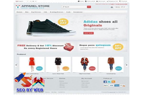 Lợi ích thiết kế website bán giày dép