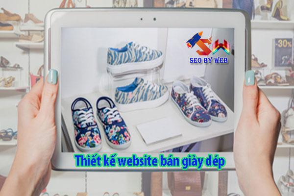 Thiết kế website bán giày dép chuẩn seo