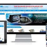 Thiết Kế Website Bán Máy Chiếu Chất Lượng Giá Rẻ