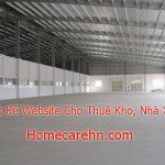 Dịch Vụ Thiết Kế Website Cho Thuê Kho, Nhà Xưởng Giá Rẻ