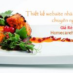 Thiết kế Website Nhà Hàng Giá Rẻ Chuyên Nghiệp Đẳng Cấp