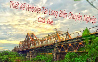 thiết kế website tại long biên giá rẻ