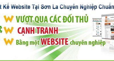thiết kế website tại Sơn La chuyên nghiệp