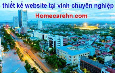 thiết kế website tại vinh chuyên nghiệp