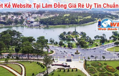 thiết kế website tại Lâm Đồng Chuyên nghiệp chuẩn seo