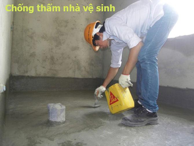 Chống thấm nhà vệ sinh tại Hà Nội chuyên nghiệp nhất hiện nay