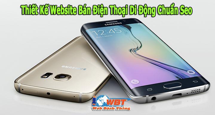 Thiết Kế Website Bán Điện Thoại Di Động Chuẩn Seo