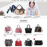 Dịch vụ thiết kế website bán túi xách chuyên nghiệp đẳng cấp