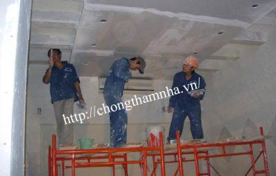Chống thấm trần nhà giá rẻ tại Hà Nội