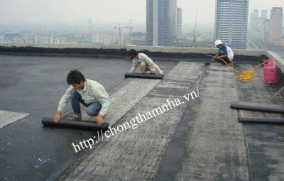 Công ty chấm thấm sân thượng