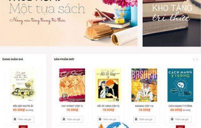 Dịch vụ thiết kế website bán sách Trực tuyến chuyên nghiệp