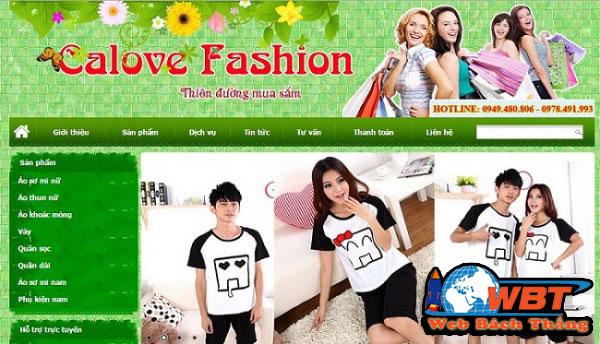 Phong cách website thời trang quyết định sự thành công