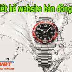 Thiết kế website bán đồng hồ đẳng cấp chuẩn seo