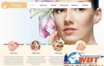 dịch vụ thiết kế website thẩm mỹ viện chuyên nghiệp đẳng cấp