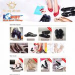 Dịch vụ thiết kế website bán giày dép uy tín chất lượng