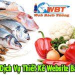 Dịch Vụ Thiết Kế Website Bán Thực Phẩm Sạch Trực Tuyến