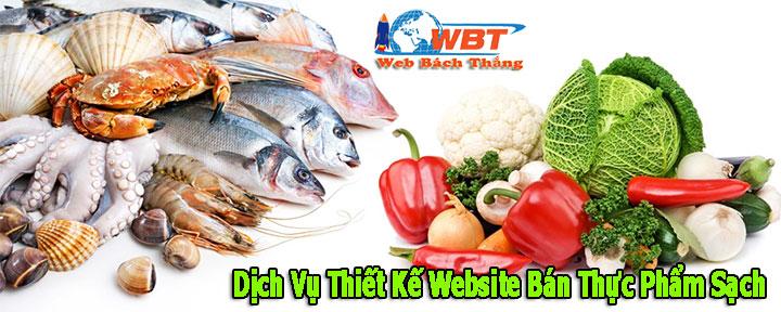 Dịch Vụ Thiết Kế Website Bán Thực Phẩm Sạch