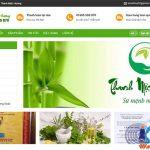 Thiết kế website bán thuốc chuyên nghiệp giá rẻ chuẩn seo