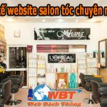 Dịch vụ thiết kế website salon tóc chuyên nghiệp Chuẩn Seo