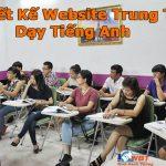 Dịch Vụ Thiết Kế Website Trung Tâm Dạy Tiếng Anh Uy Tín