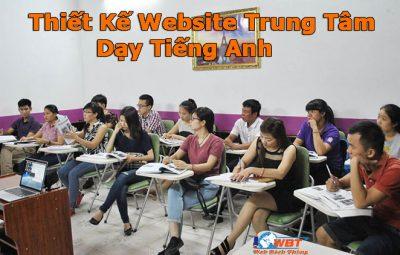 Thiết Kế Website Trung Tâm Dạy Tiếng Anh