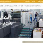 Thiết kế website xuất khẩu lao động chuyên nghiệp giá rẻ