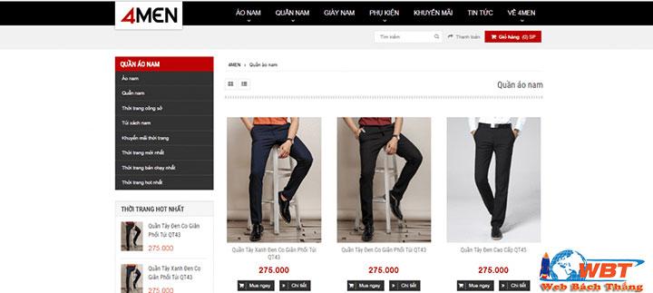 Công nghệ thiết kế web thời trang online giúp tận dụng tối đa khách hàng truy cập website