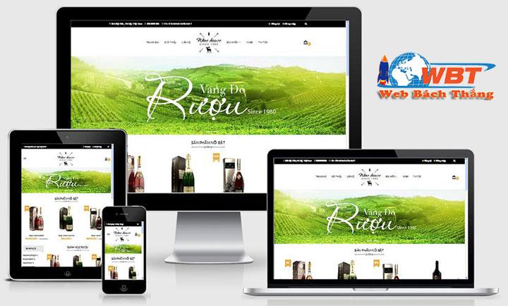 thiết kế website bán rượu uy tín chuẩn seo chuẩn di động